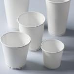 Bicchiere Bevande Calde Bio Bianco