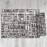 Busta Portaposate con Tovagliolo Gourmet