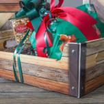 Cassetta regalo in cartone rovere