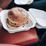 Contenitore Bio per hamburger