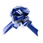 Coccarda Metal Pull Bow Blu
