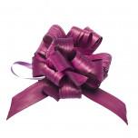 Coccarda Raphia Pull Bow Bordeaux