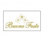 Etichetta Adesiva Buone Feste