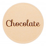 Etichetta Adesiva Chocolate Mix