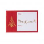 Etichetta Adesiva Christmas Elegance