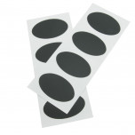 Etichette Adesive Lavagna Ovali