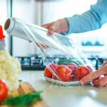 Pellicola per Alimenti Trasparente in Rotolo