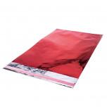 Sacchetti Metal Lucido con Adesivo Rosso