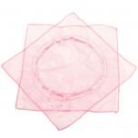 Sacchetti Organza con Laccetto Rosa