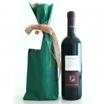 Sacchetti Portabottiglie Carta Sealing Colorata Verde