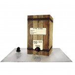 Scatola Bag in Box per vino linea Rovere