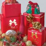Scatola Best Wishes Fondo e Coperchio Rosso