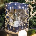 Scatola Sogno di Natale con Finestra