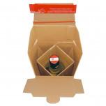 Scatola Spedizione Bottiglia Bordolese ColomPac® Avana