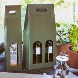 Scatola Portabottiglie Sauvignon Verde