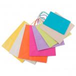 Shopper Carta Colorata Nero