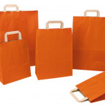 Shopper Carta Sealing Colorata Arancio