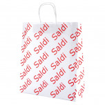 Shopper Carta Saldi Bianco