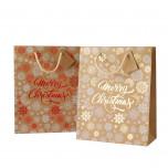 Shopper Kraft Merry Christmas Fantasia Mix