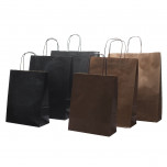Shopper Carta Sealing Dark Nero