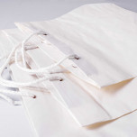 Shopper Cemento Linea Cuba Bianco