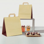 Shopper Take Away Bicolor Piattina