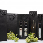 Shopper Black Edition con finestra Nero