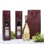 Shopper Bordeaux Edition con Finestra Bordeaux