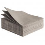Tovaglioli Tissue Unicolor 38x38 cm Tortora