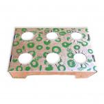 Vassoio Porta Bicchieri di Cartone