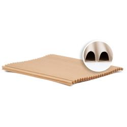Cartone Ondulato per Imballaggio in Fogli h15 mm