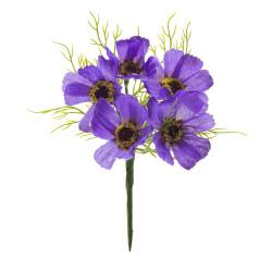 Pick Papaveri 5 fiori Lilla