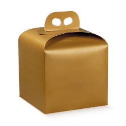 Scatola Portapanettone Skin Oro