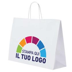 Shopper Carta Orizzontale Personalizzata a Colori 1 lato