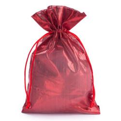 Sacchetti Tessuto Laminato Rosso