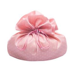 Sacchetto Portacolomba Fiorellini Rosa