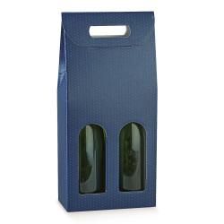 Scatola Portabottiglie Spot Blu
