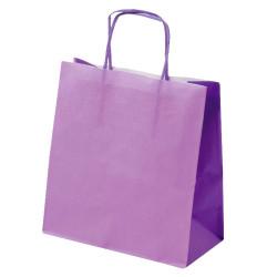 Shopper Carta Bicolor Lilla