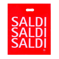 Shopper Plastica Saldi