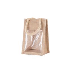 Shopper Portavasetti Juta 1 vasetto Naturale