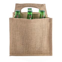 Shopper Juta Portabottiglie Birra Naturale