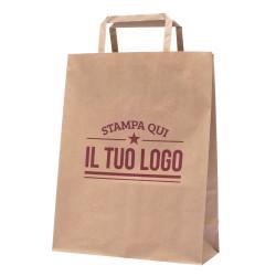 Shopper Avana Maniglia Piattina Personalizzata