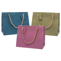 Shopper Carta Kraft Colors Orizzontali Mix