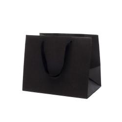 Buste Shopper Fondo Largo Kraft Elegance Nero