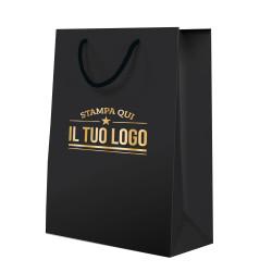 Shopper Lusso Plastificate Opache Personalizzate