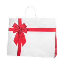 Shopper Red Bow