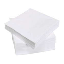 Tovaglioli Monovelo Bianco