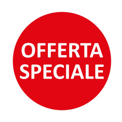 Vetrofania Offerta Speciale Tonda