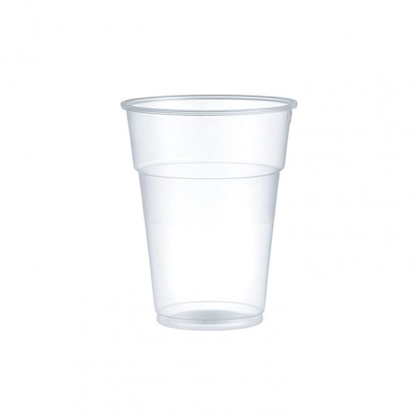 Bicchieri Plastica Trasparente 250cc Trasparente
