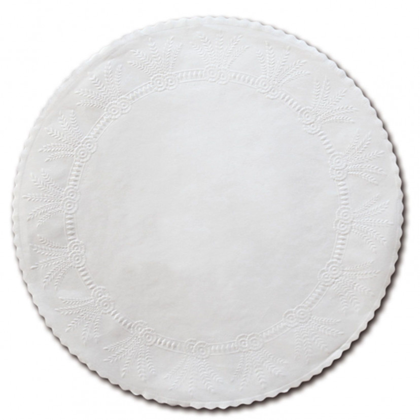 Sottofritti Tondi Bianco